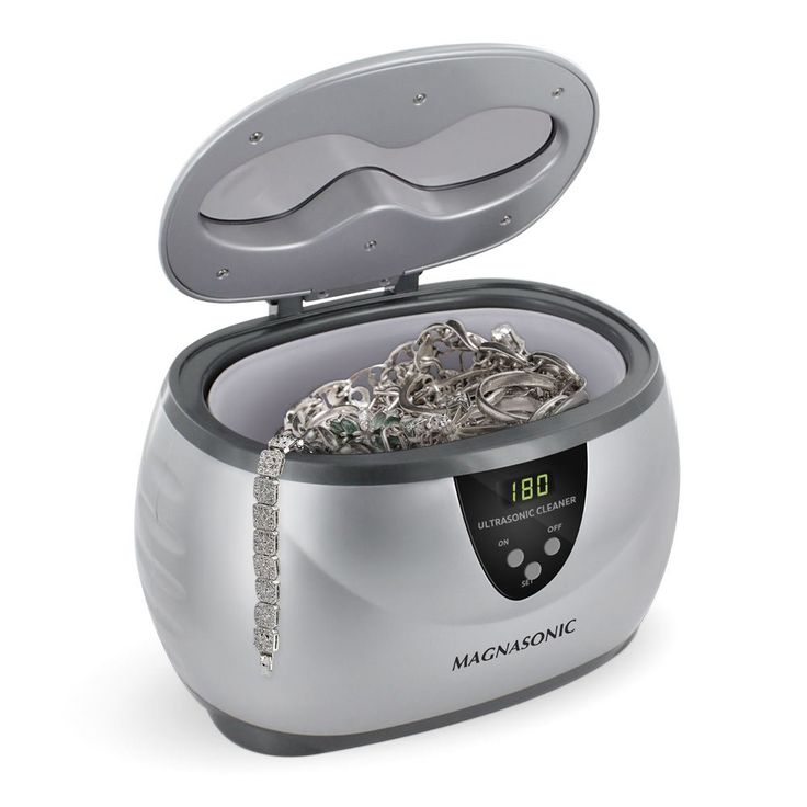 Amazon.com: Magnasonic Professional Ultrasonic Jewelry Cleaner with Digital Timer for Eyeglasses, Rings, Coins (MGUC500): Industrial & Scientific   @giftryapp