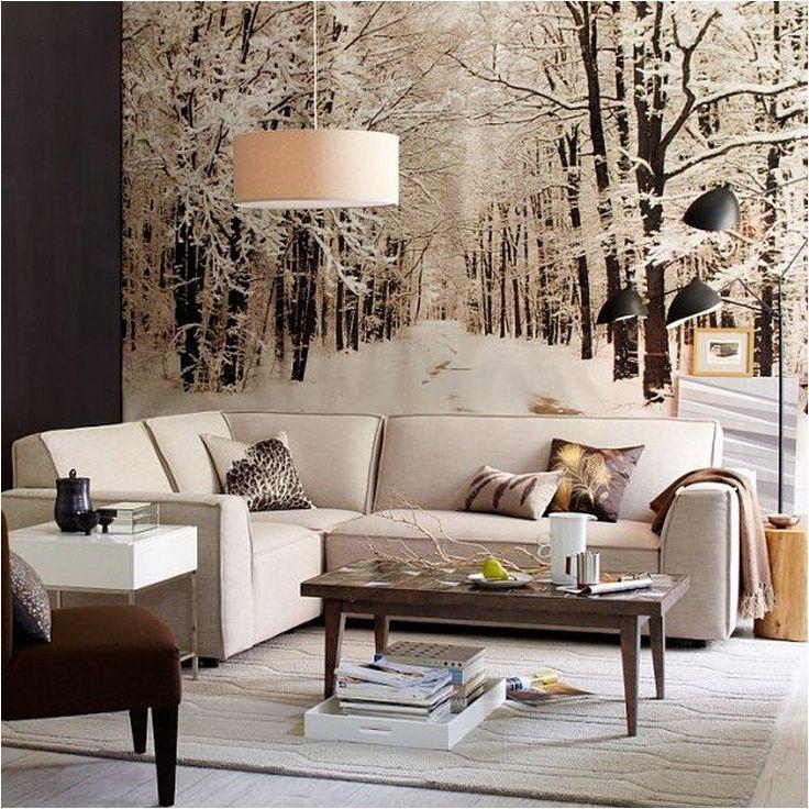 зимние картинки для гостиной