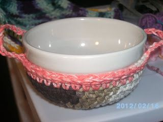 Now I M Crocheting This Microwave Bowl Cozy No Pattern