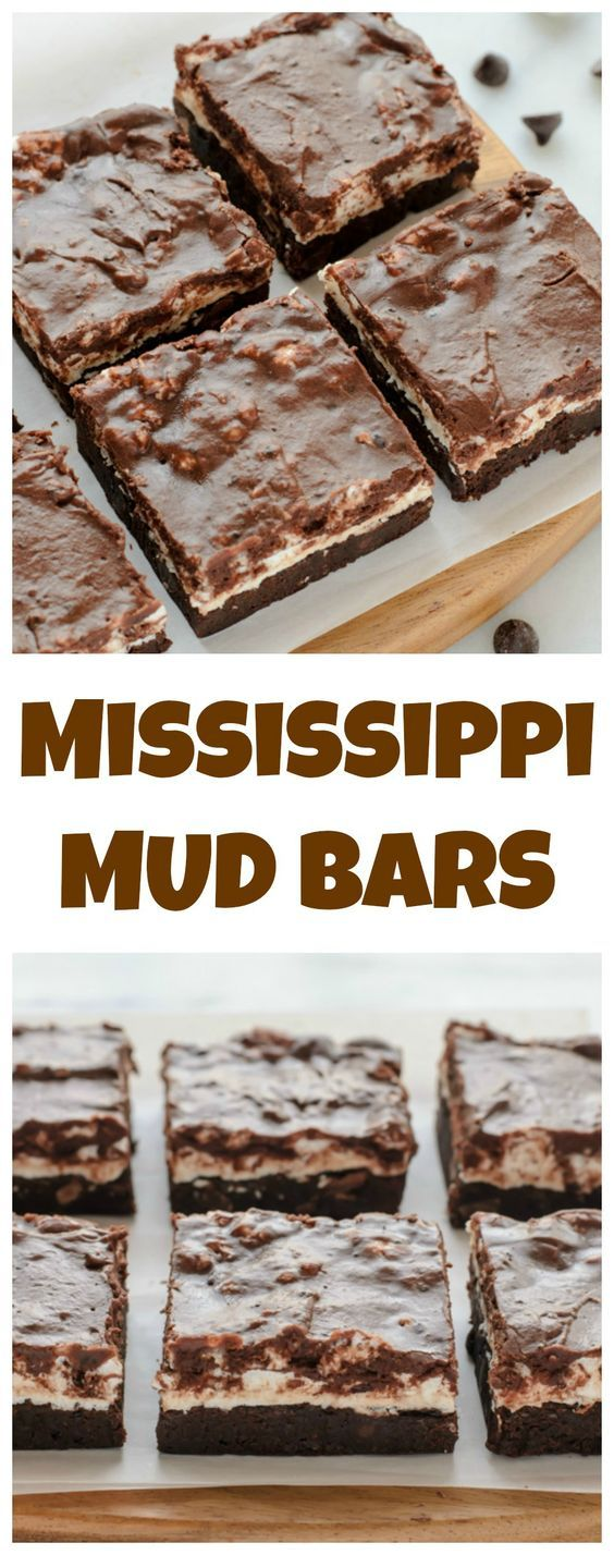 Mississippi Mud Pie Bars. Marshmallow brownies covered in fudge. To die for!