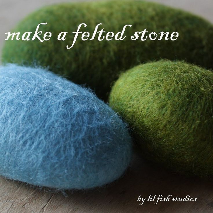 A real stone cocooned inside of soft wool. They have a soothing heft and beg to be held. Whether they become a palette for stitches, paper weights,...