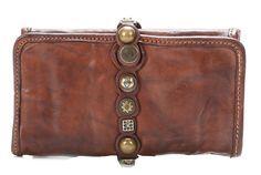 Campomaggi Lavata Geldbörse Damen Leder braun 18 cm - CP0044VL-1701 - Designer Taschen Shop - http://wardow.com