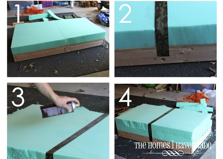 1000  images about DIY - ottomans