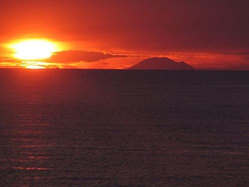 Alicudi at sunset