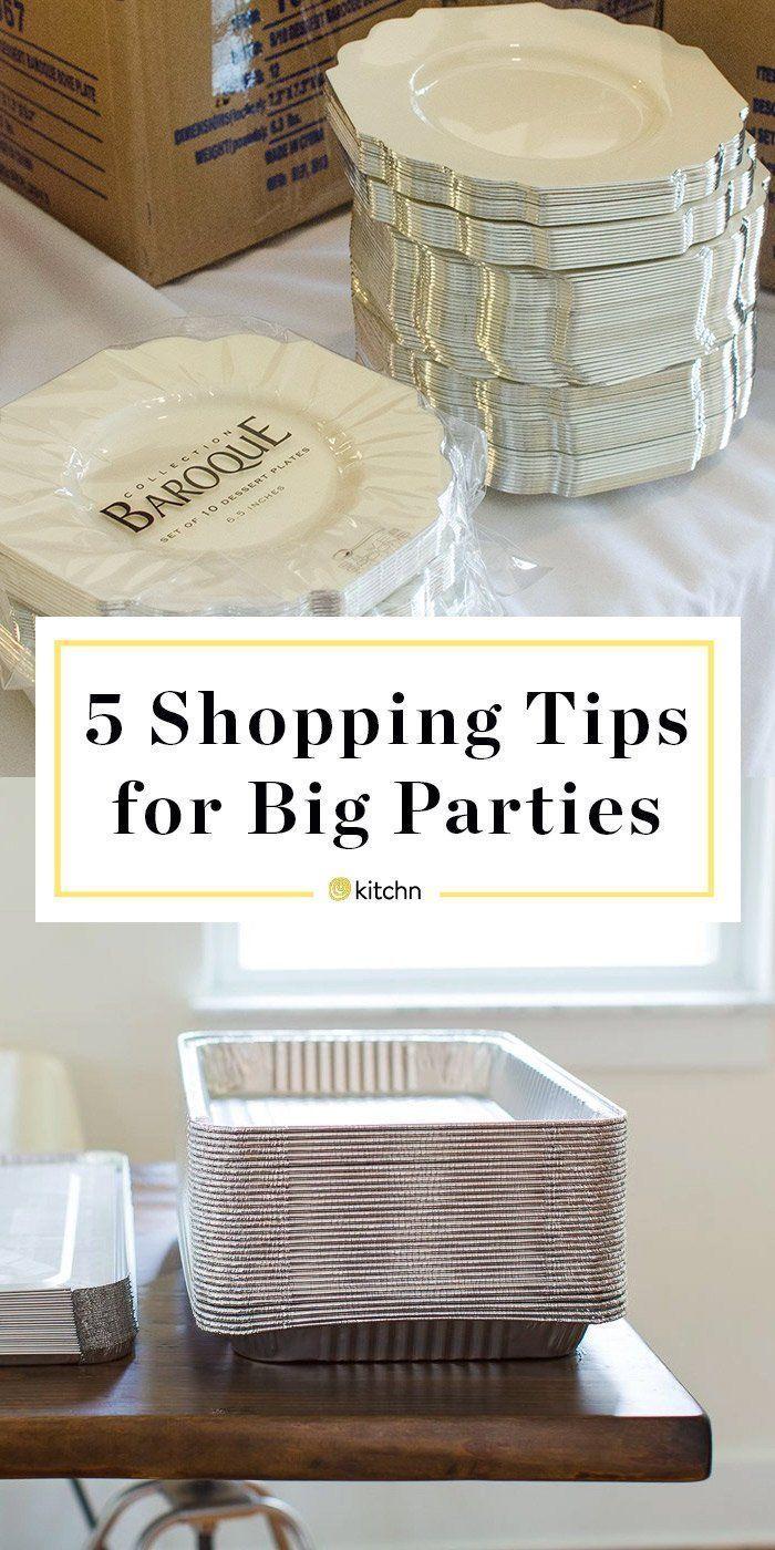 5 Shopping-Tipps für DIY-Hochzeitsempfänge und andere große Partys