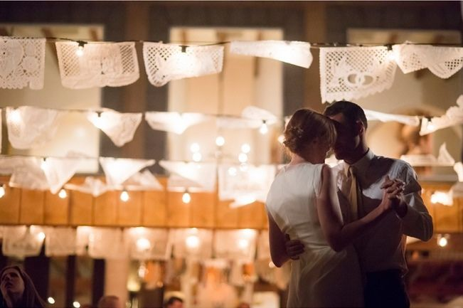 Hacienda Dona Andrea Wedding _ Ashley Davis Photography 21    It reflects her elegant style while tying in so nicely with the natural elements such as the sage sticks purchased at the local farmers market, and the romantic outdoor lighting at their reception.