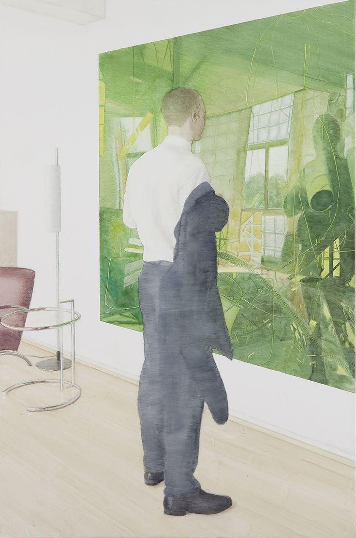 Vibeke Slyngstad: Villa Stenersen V, Oil on Canvas, 160 x 105 cm, 2012 odern Classics