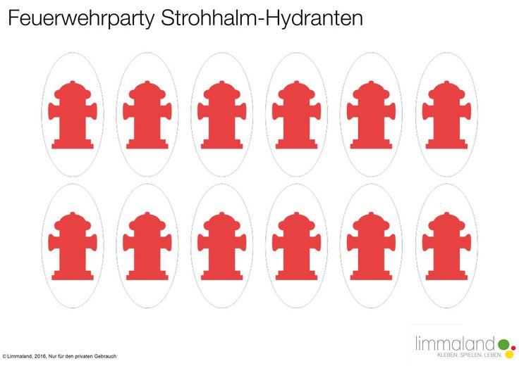 Feuerwehr-Geburtstag-Download-Strohhalmhydranten-www.limmaland.com