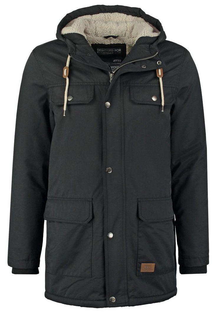 YOUR TURN Winterjas black, YOUR TURN Winterjas black, 69.95, http://kledingwinkel.nl/shop/heren/your-turn-winterjas-black/