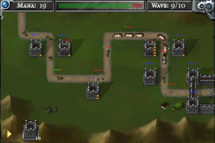 Screenshot Sunday Tower Defense