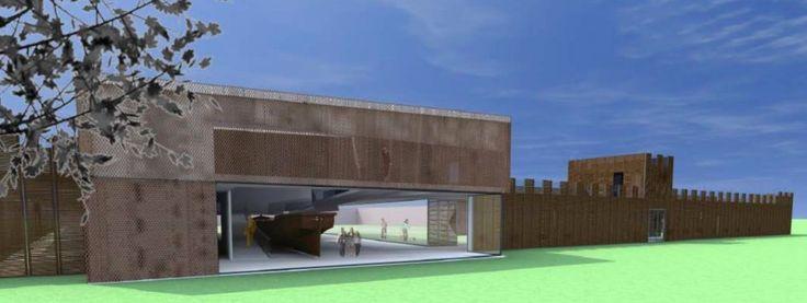 Castellum Hoge Woerd: Romeins schip & museum, theater & lunchroom