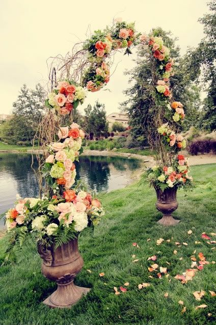 Maybe we could have something like this for our grand march arch. obviously it won't be outside like the picture but still would be pretty awesome