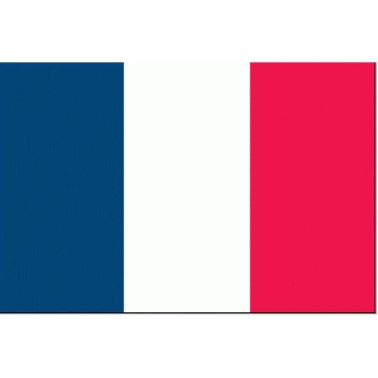 Tafelvlag Frankrijk 10x15cm   Franse Tafelvlag