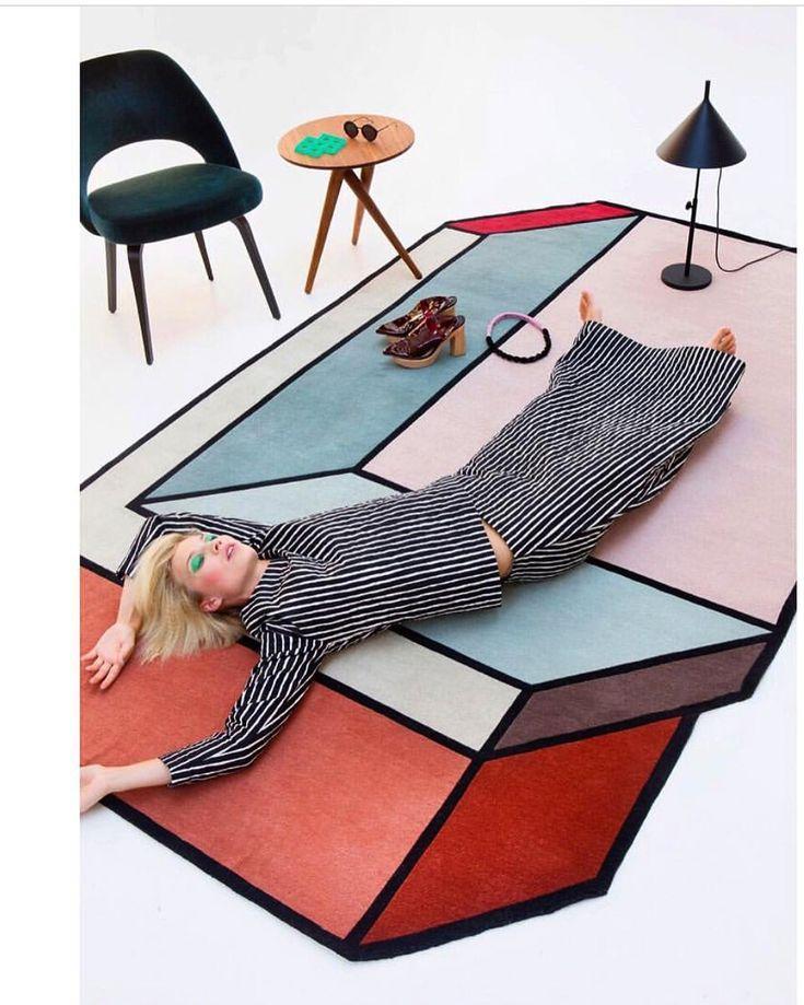 Visioni rug Patricia Urquiola for CC Tapis