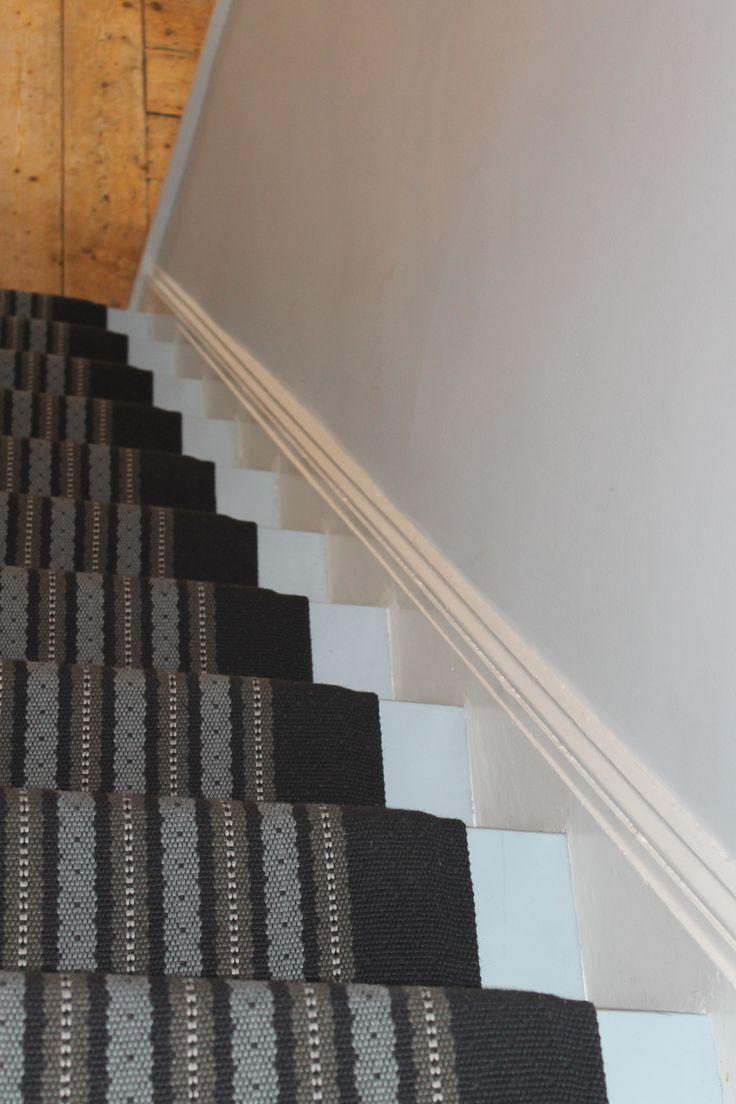 Fleetwood Fox flat weave carpet stair runner