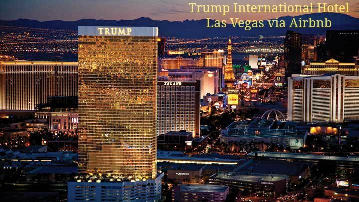 Where to stay in Las Vegas? Trump International Hotel via @Airbnb #LasVegas