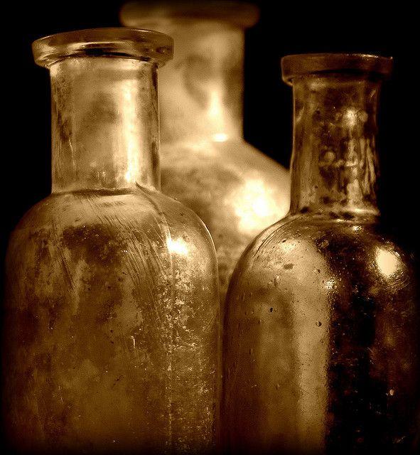 sepia bottles - coopsgirl22