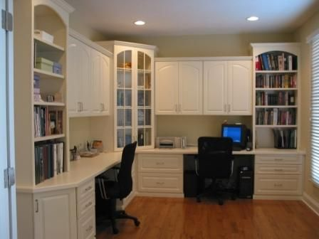 indianapolis home office cabinets innovative - Home Office Cabinet Design Ideas