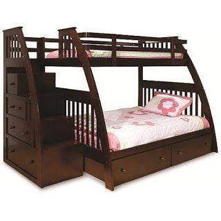 lit superposé avec rangements