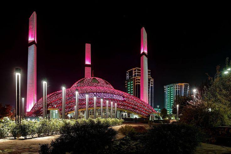 Czeczenia, Meczet w Argun - Wikipedia, wolna encyklopedia