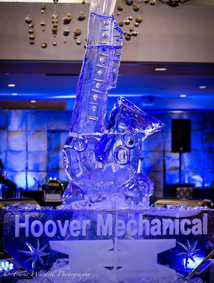 Custom ice sculpture, event decor