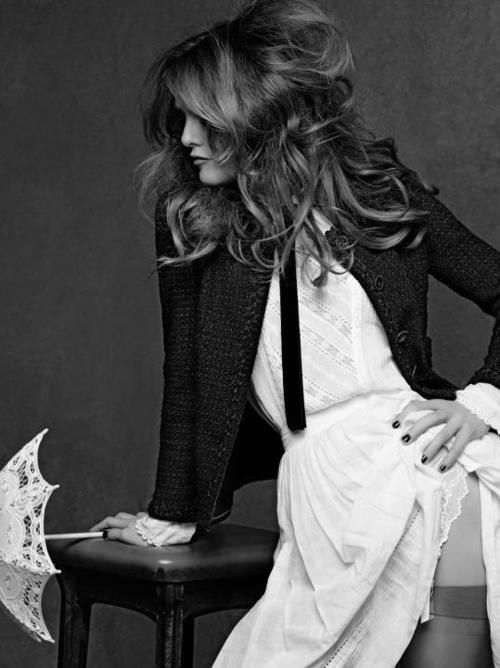 Chanel // Little Black Jacket // Vanessa Paradis