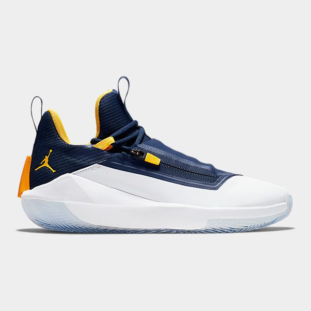 Elástico ecuador Escarpado  Men's Air Jordan Jumpman Hustle Basketball Shoes| Finish Line | White nike  shoes, Air jordans, Basketball shoes for men