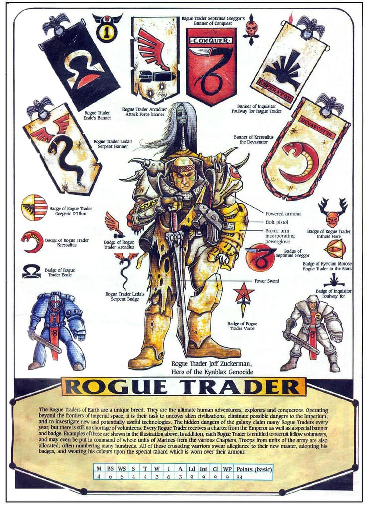 Rogue Traders - Warhammer 40K Wiki - Space Marines, Chaos, planets, and more - Wikia