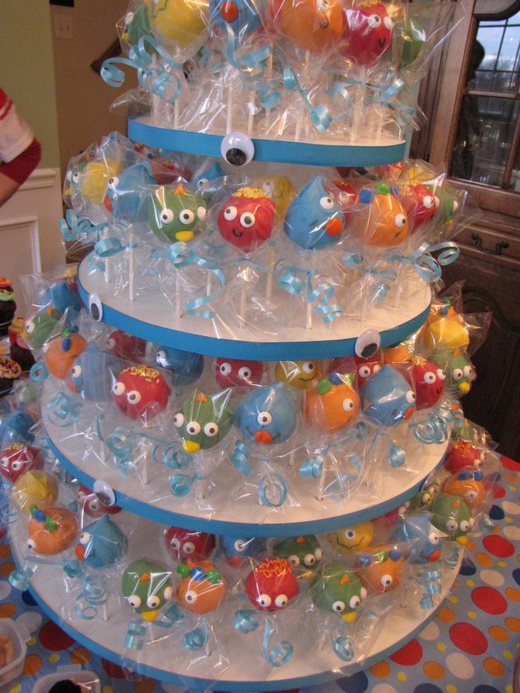 Silly Little Monster Cake Pops Monster Mash Pinterest