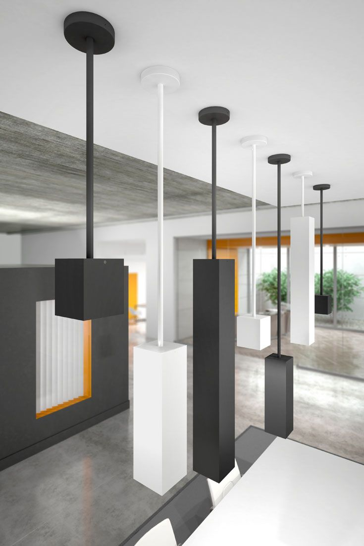 With optional sizes ranging from a simple cube to exaggerated rectangular shades, the Exo LED pendant light from Tech Lighting is perfect for your kitchen island, hallway, entry room, or even commercial office space. A truly customized modern industrial look can be achieved with the Exo pendant light by selecting from its white, black or gold haze recessed trim color options.