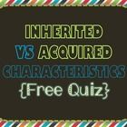 This file is in PDF format. This quiz goes along with the Inherited & Acquired Presentation.  Topics Include: *Inherited and Acquired (or learn...