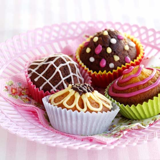 Muffins basrecept - Recept