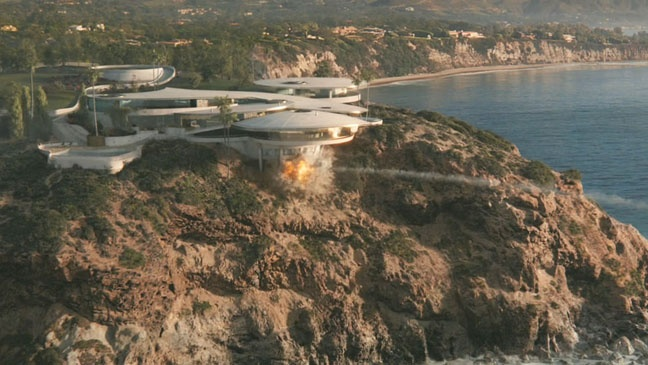 Tony Stark House In Iron Man Movies Houses Outside