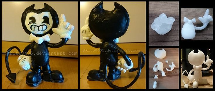 Bendy-Figuya | Bendy and the Ink Machine by Akito0405
