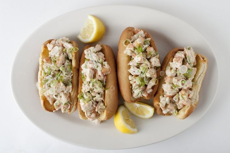 Keep summer going just a little bit longer with this recipe: Serve these shrimp rolls with a pile of steamed, buttered corn.