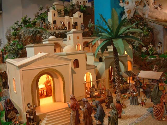 5- Belenes de Navidad Quinta Estación El Empadronamiento krouillong comunion en la mano es sacrilegio stop communion in the hand