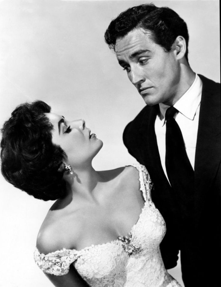 ELIZABETH TAYLOR AND VITTORIO GASSMAN #VittorioGassman #italian #cinema #actor #neorealism #movie