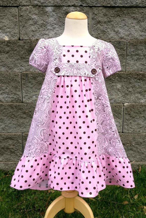 INSTANT DOWNLOAD Delta Dress Sizes 12/18 by sewsweetpatterns