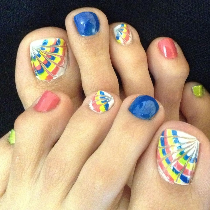 Toe Nail Art Holidays: The 25+ Best Rainbow Toe Nails Ideas On Pinterest