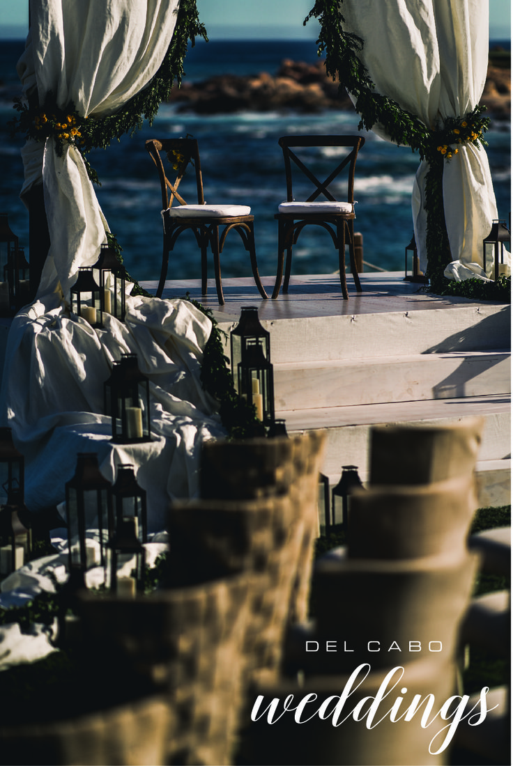 Beach weddings! Have your ceremony with a view! Del Cabo Weddings will plan and design your destination wedding!