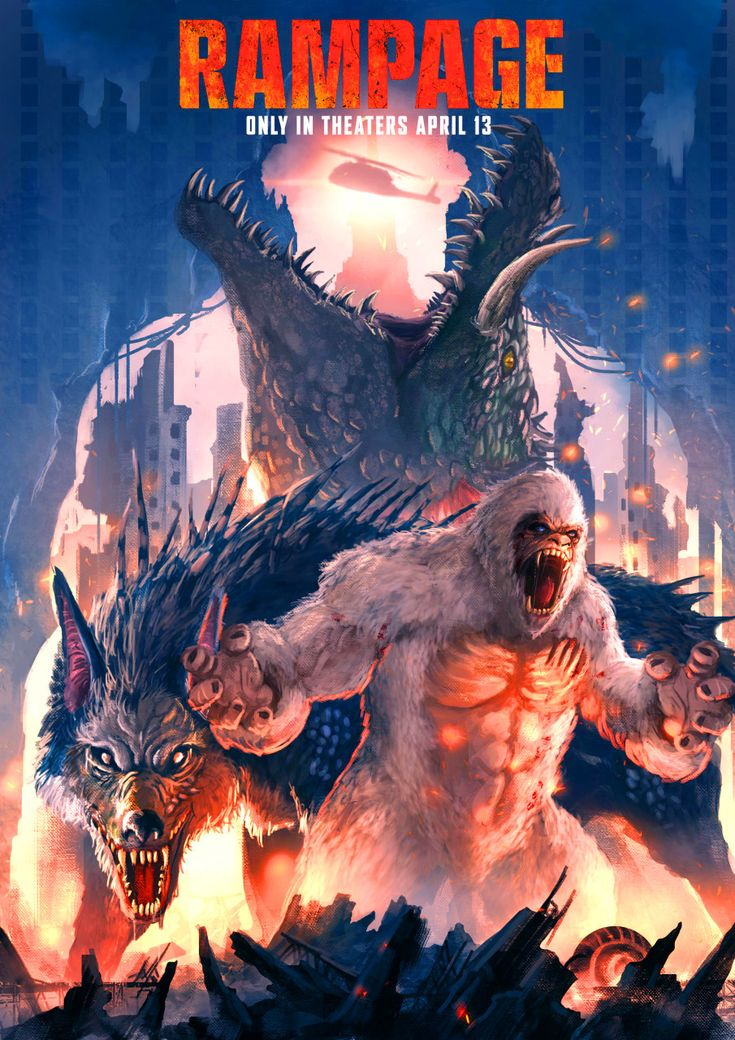 Pin by Hector Barrios on Rampage Beast creature, All