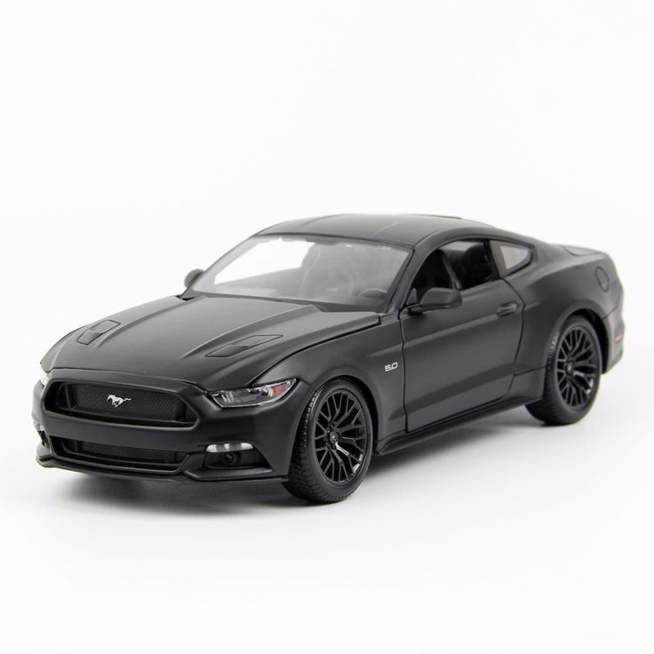 New arrival 1/18 Scale Ford Mustang 2015 GT 5.0 Alloy Diecast Car Model Alloy Metal Car Model For Kids Gifts Toy Free Shipping