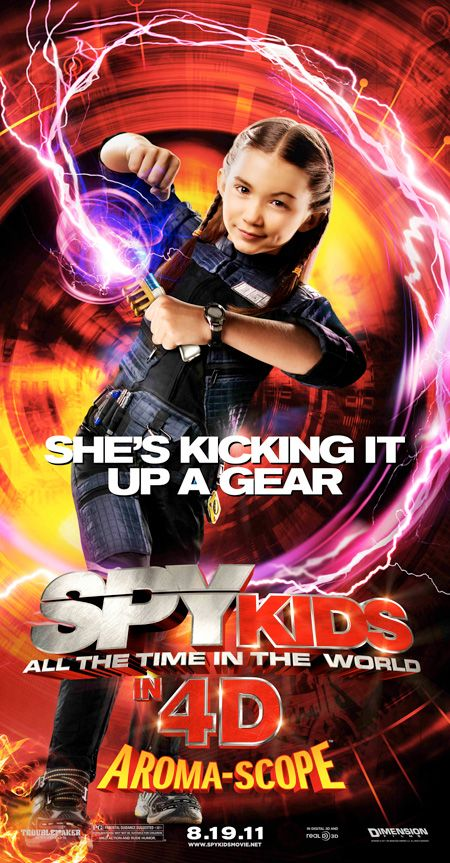 Spy Kids All the Time in the World in 4D