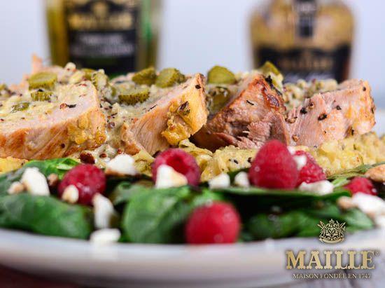 Maille, geleneksel tatlara uyum sağladığı gibi modern lezzetlerin de ruh ikizi olmaya devam ediyor.