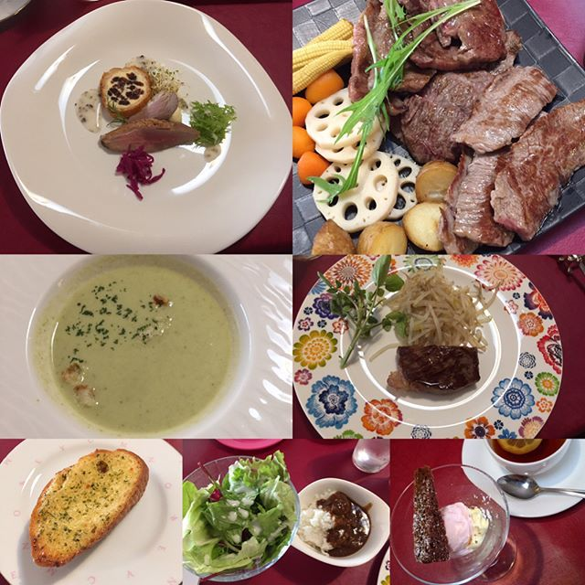 今日は豪華ランチを ごちそうしてもらって来たー! 料理がめっちゃ美味しい! 店も京町家でめっちゃ素敵な造り😍 ごちそうさまでしたー♡  #豪華ランチ#肉#京町家#隠れ家レストラン
