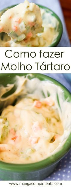 Como preparar Molho Tártaro | Receitas de Verão #receita #molhos #comida #verão