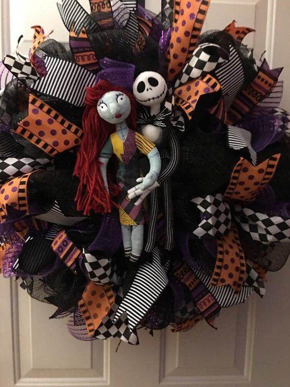 Jack Skellington and Sally, Nightmare Before Christmas, Pumpkin King