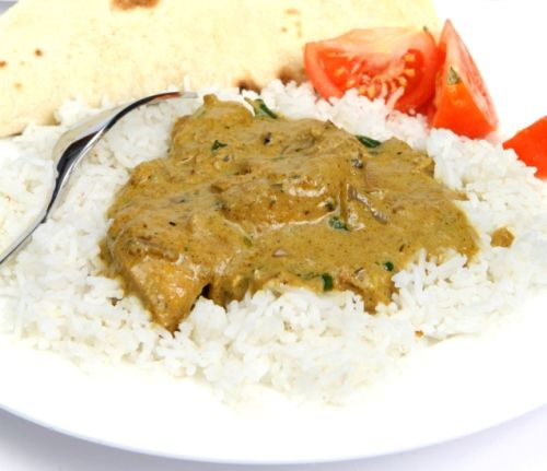 Pollo al curry alla tailandese