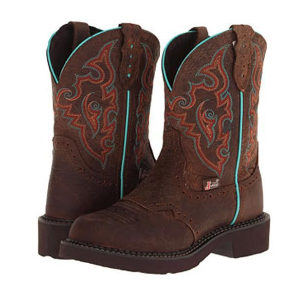 LADIES' JUSTIN BARNWOOD BROWN JUSTIN GYPSY™ BOOTS