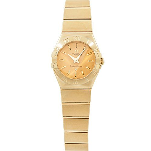 Omega Constellation quartz womens Watch 123.50.24.60.08.001 (Certified Pre-owned...